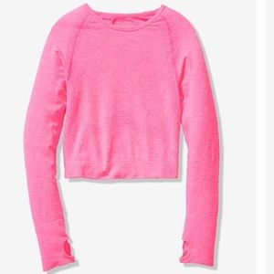 Victoria's Secret PINK Seamless Cropped Crew.